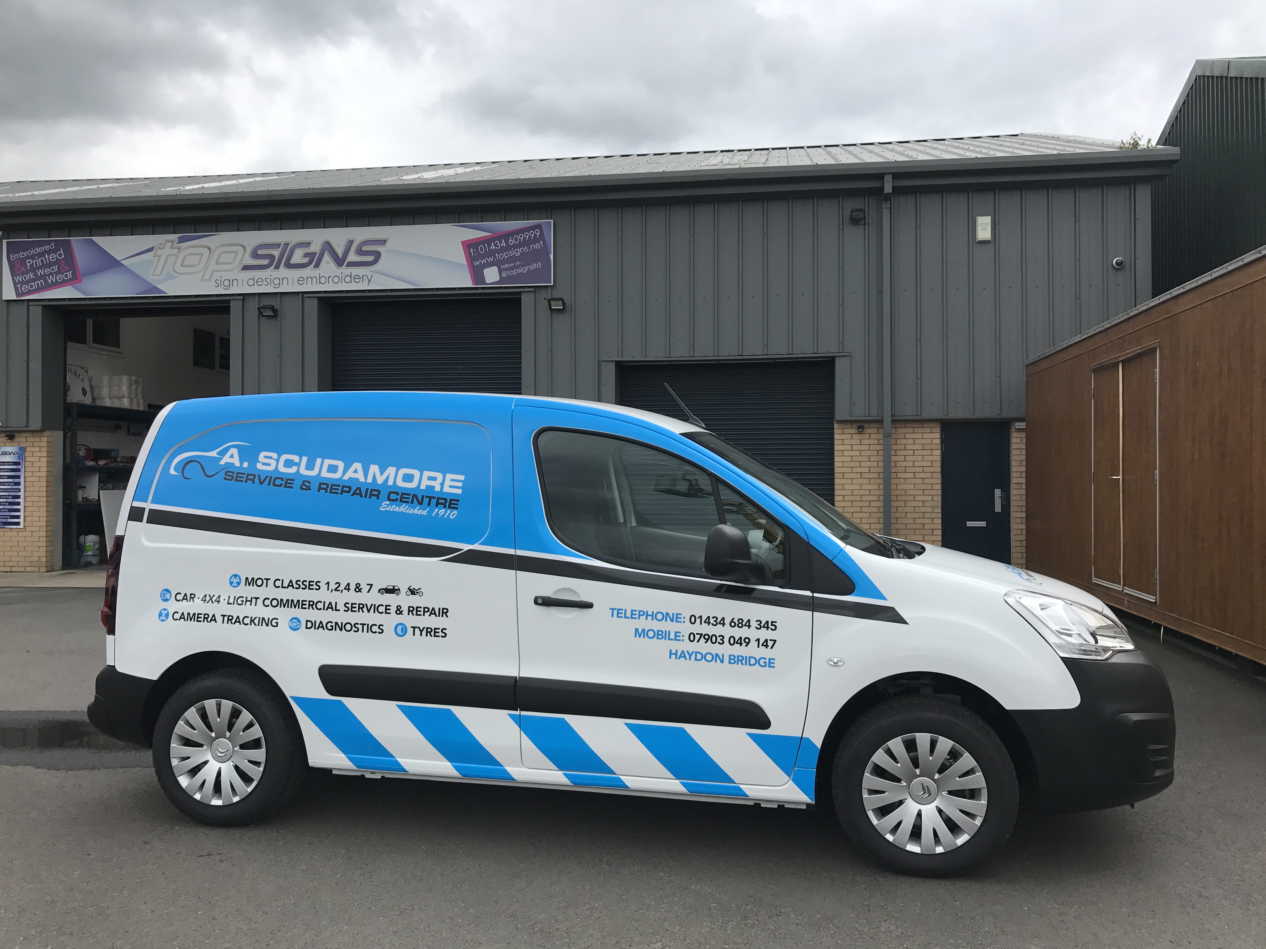 7e7fae662ba9c9 Top Signs Ltd - Professional Vehicle Graphics based in Hexham ...