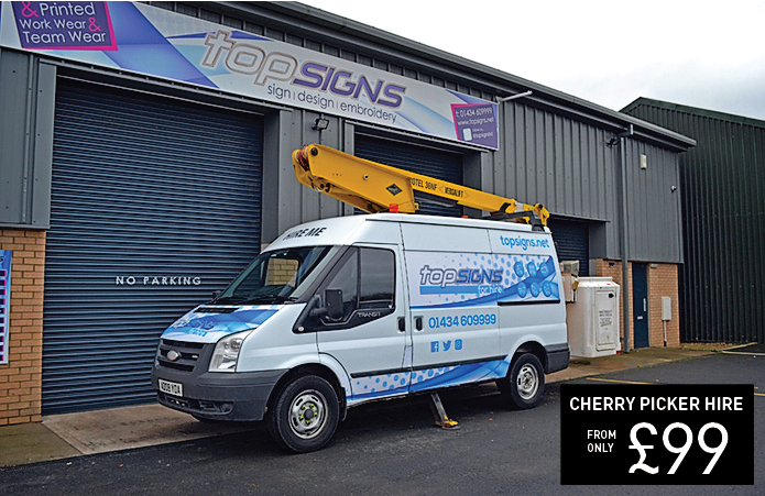 Top Signs Cherry Picker