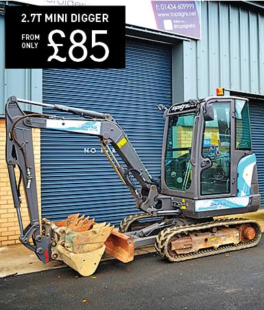 Volvo EC15B 1.5 Tonne Mini Excavator