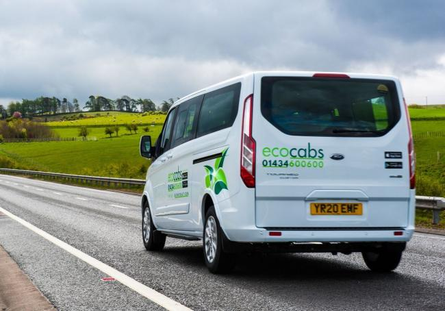 Eco Cabs - Ford Tourneo Custom Plug-in Hybrid Vehicle