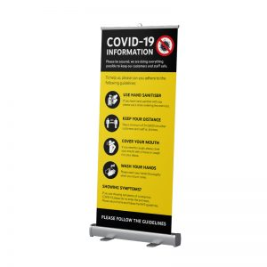 COVID-19 Pop Up Banners