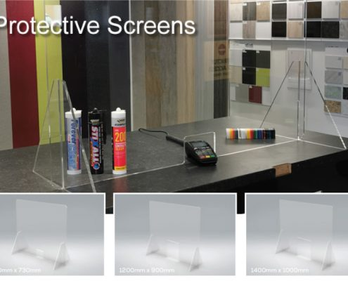 COVID-19 Acrylic Protective Screens